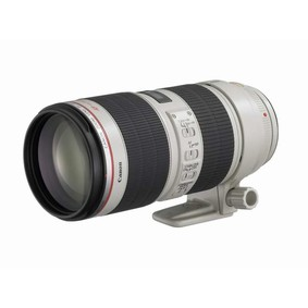 佳能(Canon) EF 70-200mm f/2.8L IS II USM 长焦远摄镜头小白兔 白色